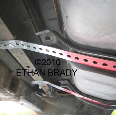 Replacing the OEM gas tank with one that actually seals and keeps